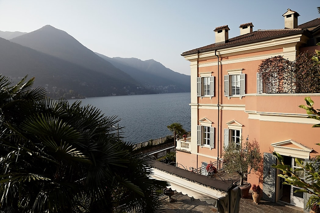 Lake House, Lago di Como, Italy Klassieke huizen van Ethnic Chic - Home Couture Klassiek