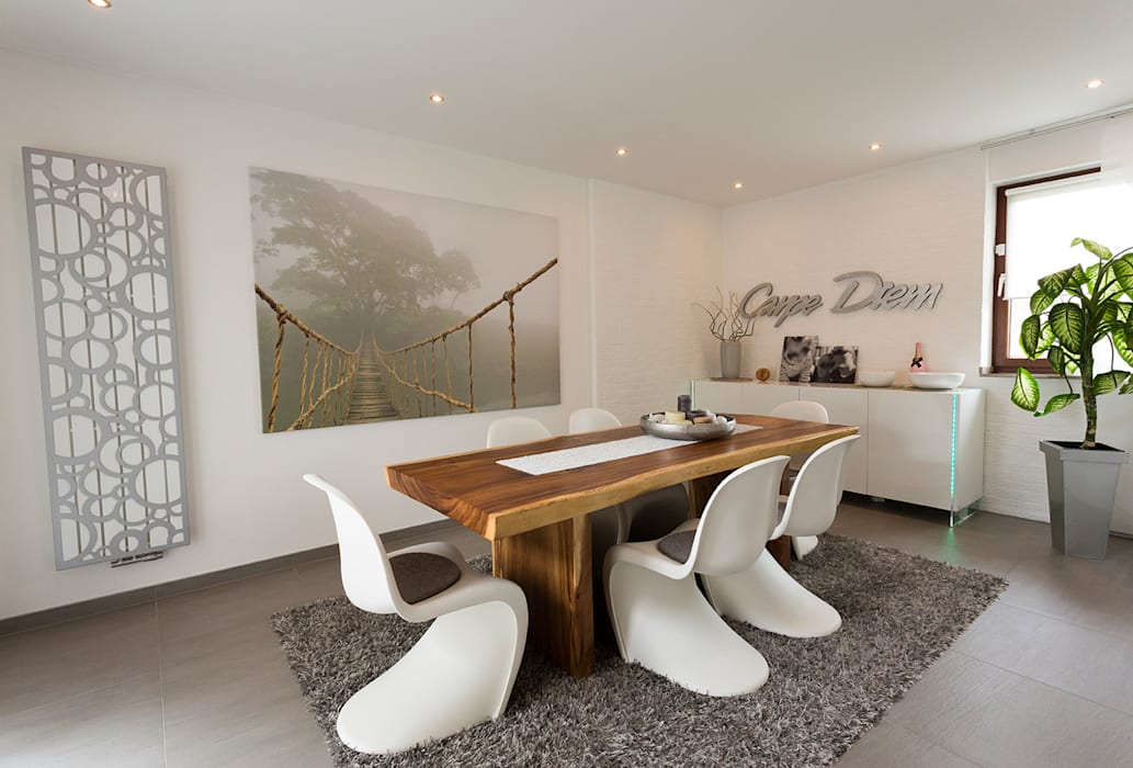 Dining room by Zimmermanns Kreatives Wohnen