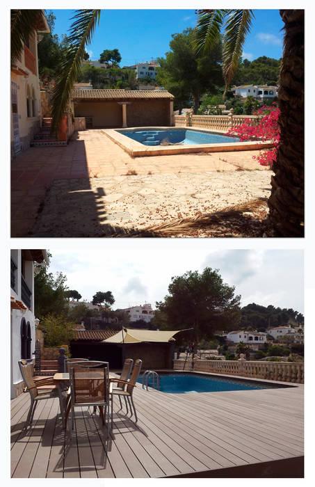 chalet en Javea Moderne Pools von torradoarquitectura Modern