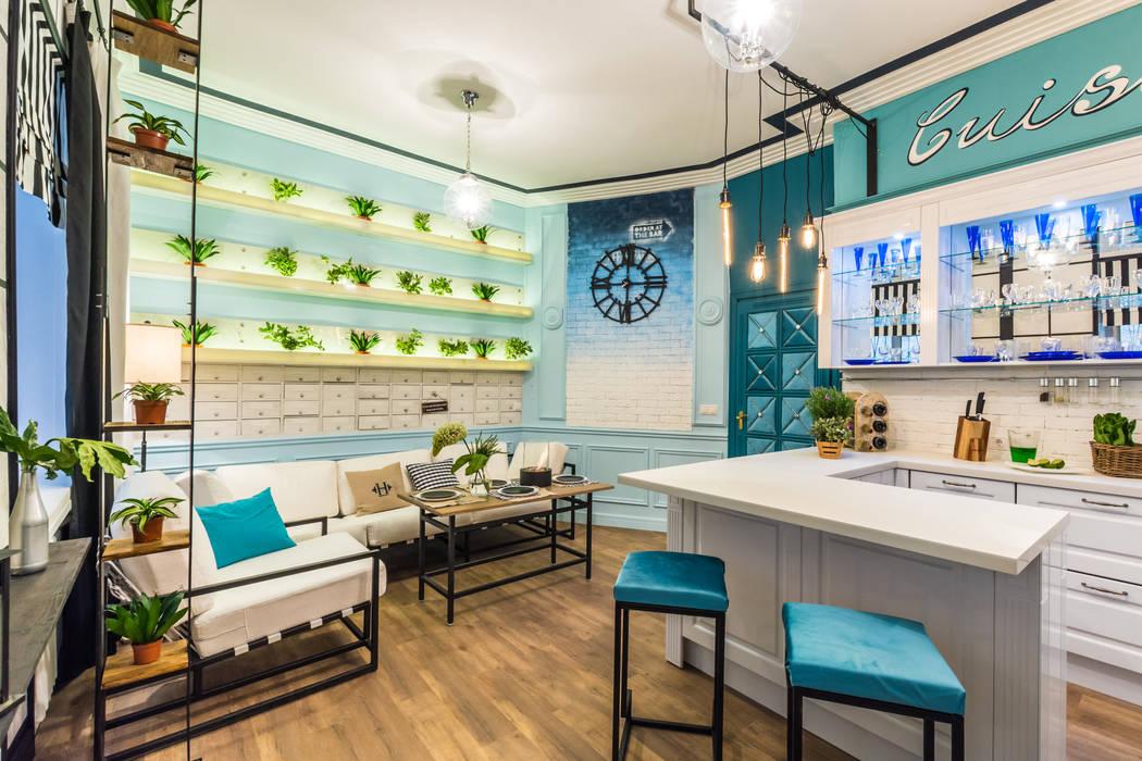 Cuisine méditerranéenne par Tony House Interior Design & Decoration Méditerranéen