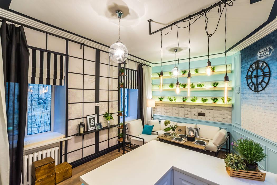 Tony House Interior Design & Decoration Кухня Бірюза