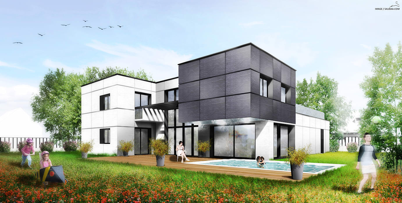 Modern Houses by SARA Architecture Modern