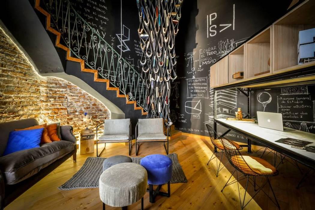 Salones de estilo moderno de PSV Arquitectura y Diseño Moderno