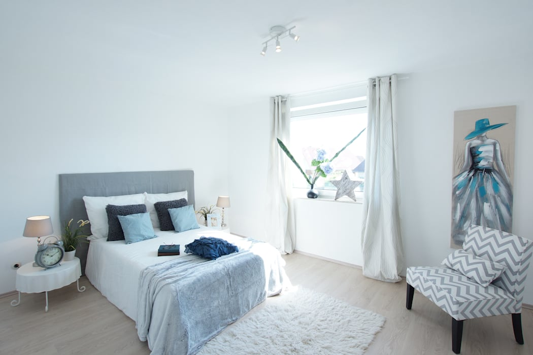 Home Staging Geerbte Immobilie Birgit Hahn Home Staging Schlafzimmer im Landhausstil