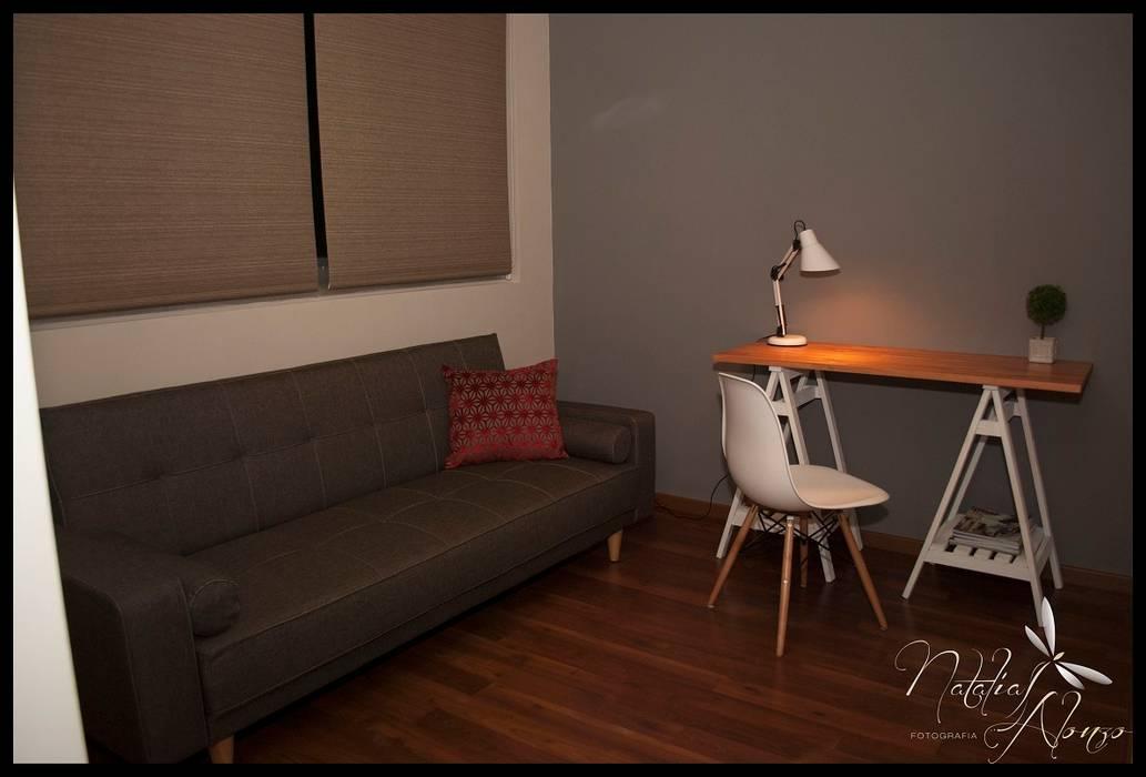 Segundo dormitorio invitacion al disfrute: Dormitorios de estilo  por Diseñadora Lucia Casanova