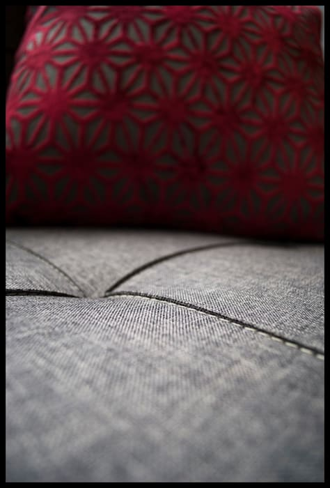Texturas: Dormitorios de estilo ecléctico por Diseñadora Lucia Casanova