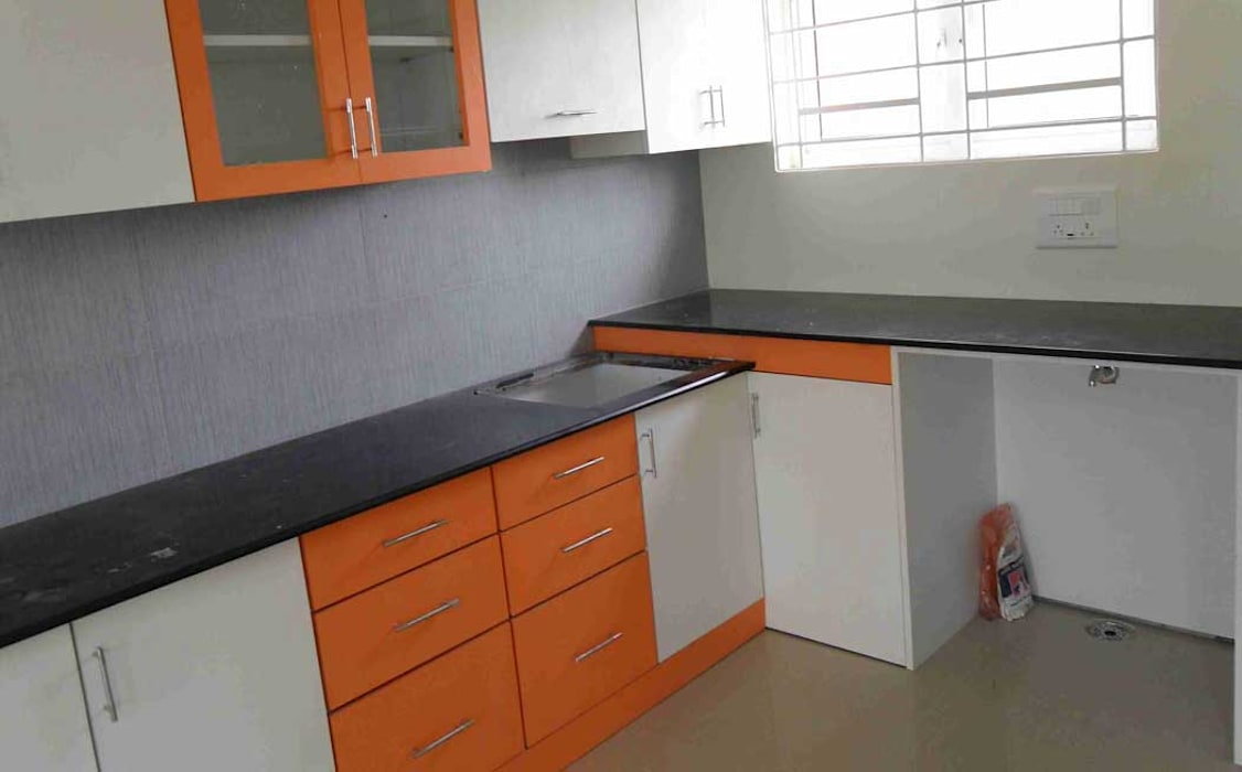Kitchen CRYSTAL INTERIORS & FURNISHINGS KitchenCabinets & shelves