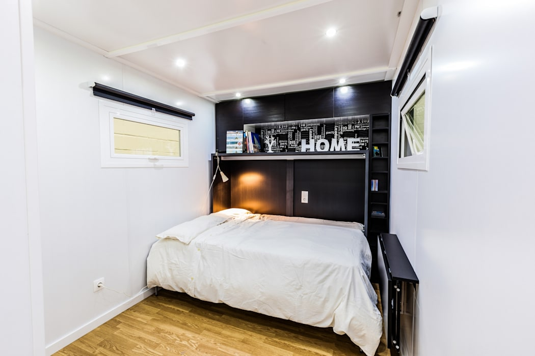 Спальня в стиле модерн от MoDULoW Модерн