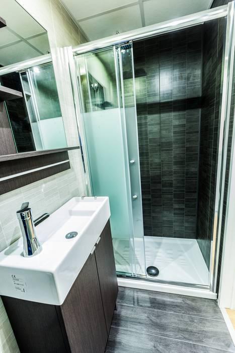 Ванная комната в стиле модерн от MoDULoW Модерн