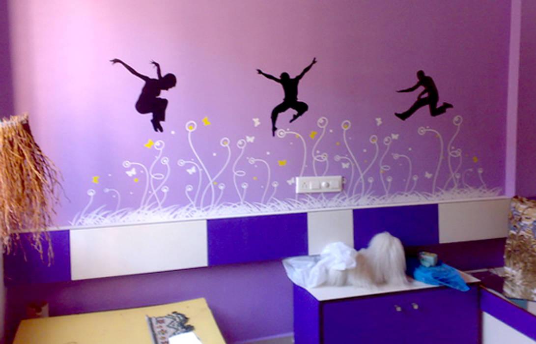 Kids Room Graphics Modern nursery/kids room by BION Creations Pvt. Ltd. Modern