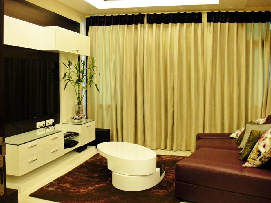 Residence Design, Sandesh Vihar Modern media room by H5 Interior Design Modern