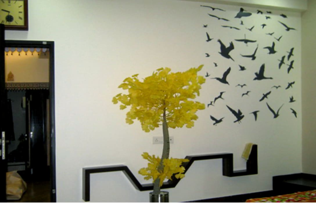 Bedroom Graphics Modern style bedroom by BION Creations Pvt. Ltd. Modern