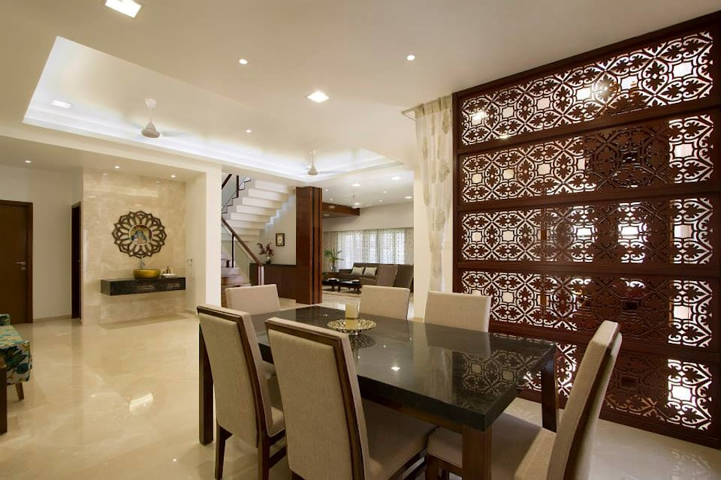 Mr. Sanjay patel - Bungalow P & D Associates Modern dining room
