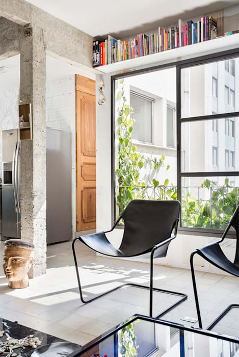 Livings de estilo minimalista de RSRG Arquitetos Minimalista