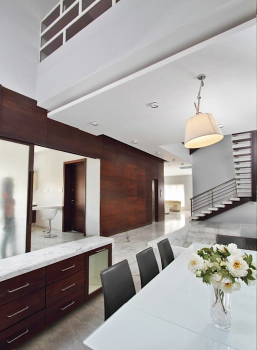 Babu Residence Modern living room by Planet 3 Studios P Limited Modern