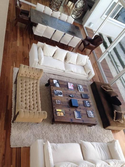 Casa Moderna Modern living room by GG&A Modern