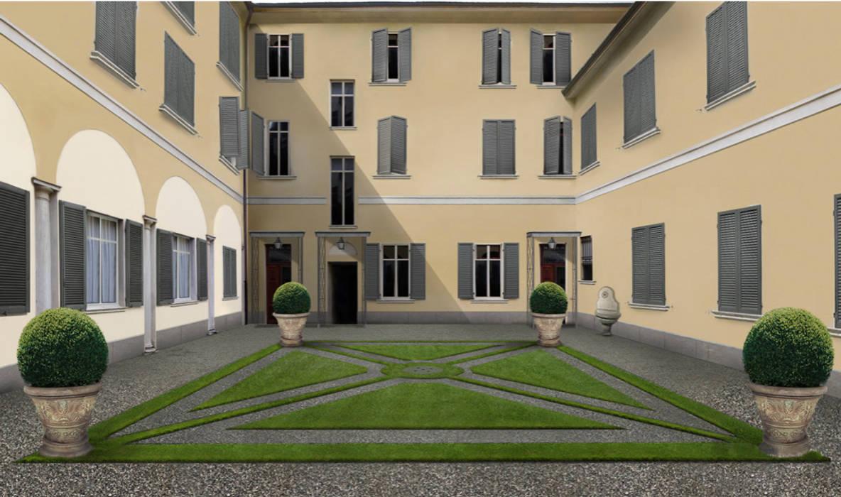 tappeto erboso: Case in stile in stile Classico di Anna Paghera s.r.l. - Interior Design
