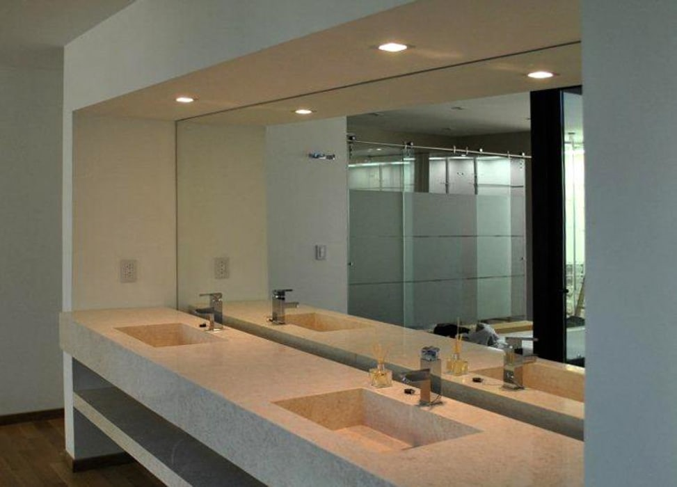Ba os ln ba os de estilo moderno por ln arquitectura homify for Arquitectura banos modernos