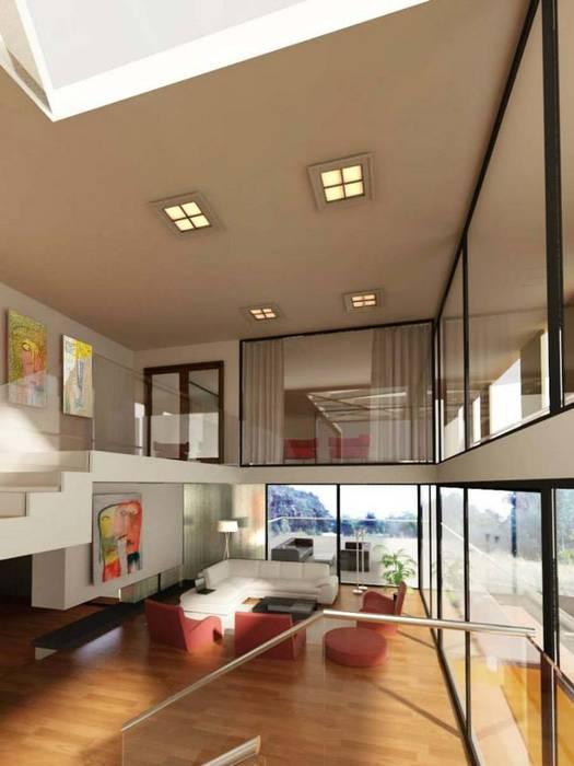 Casa MP Modern Living Room by Bocco Bentancourt Modern