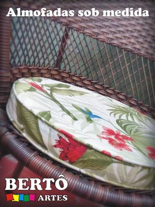 Almofadas Bertô Artes e Decorações CasaAcessórios e Decoração