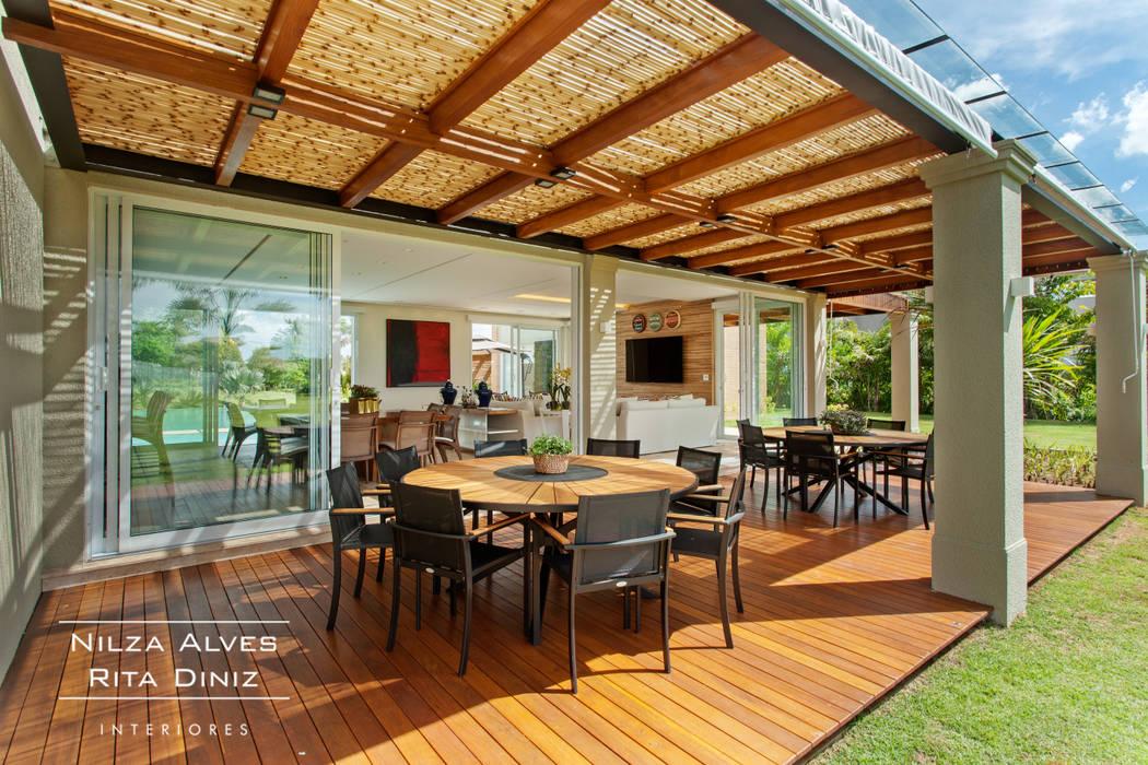 Balcones y terrazas rurales de Nilza Alves e Rita Diniz Rural
