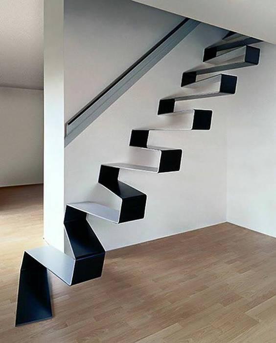 Proyectos de interiorismo varios estudio 60/75 Pasillos, vestíbulos y escaleras modernos