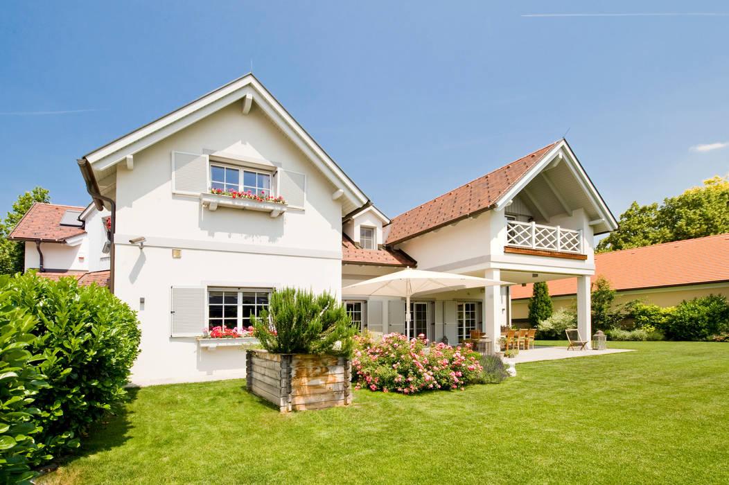 Einfamilienhaus In Laxenburg Mediterrane Hauser Von Wunschhaus Homify