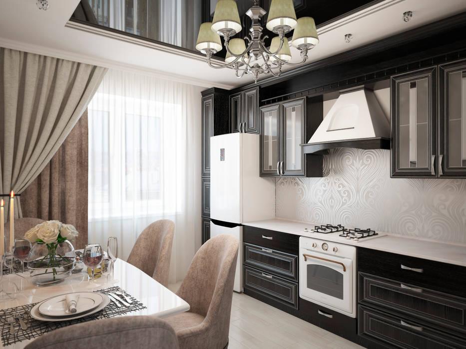 Дизайн-проект квартиры Кухня в классическом стиле от Artstyle Классический