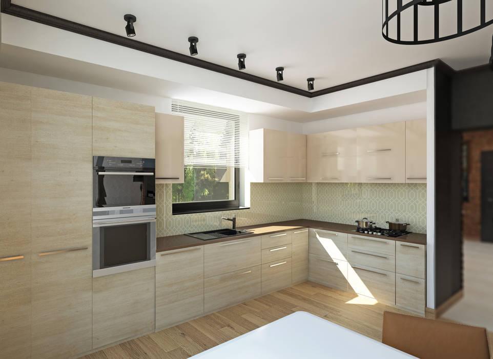 YES-designs Minimalist kitchen