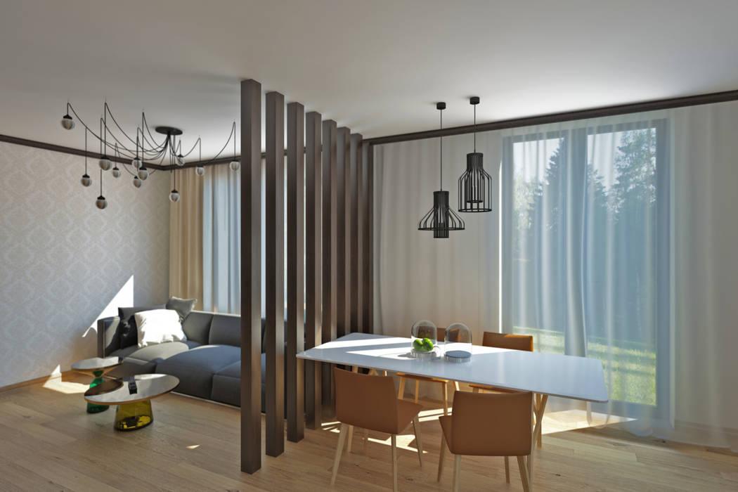 YES-designs Minimalist living room