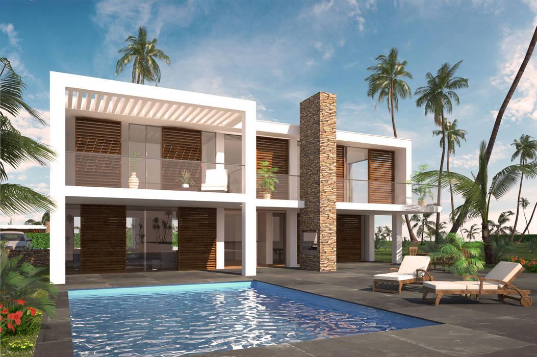 Casas de estilo moderno de 2architecten Moderno