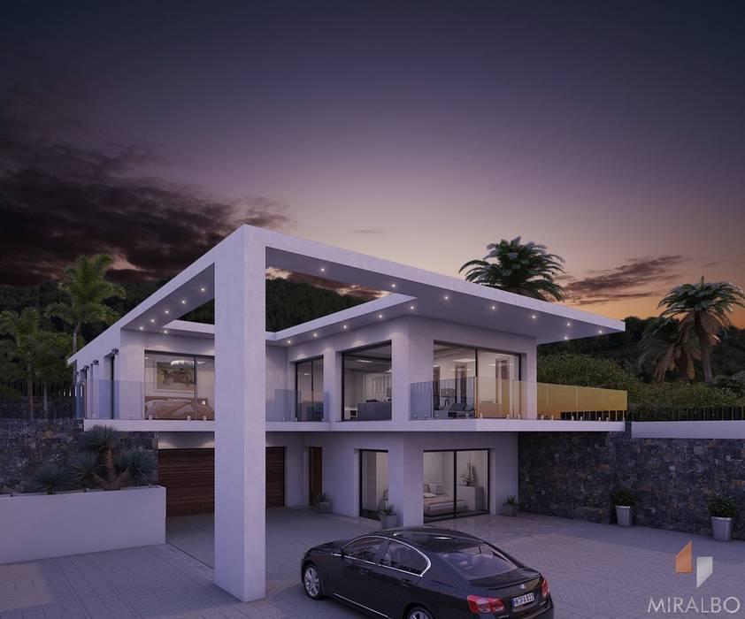 Villa Enea Miralbó Excellence Moderne Häuser