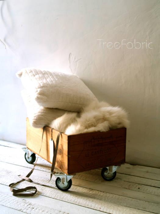 Toy Box de Treefabric Escandinavo Madera Acabado en madera