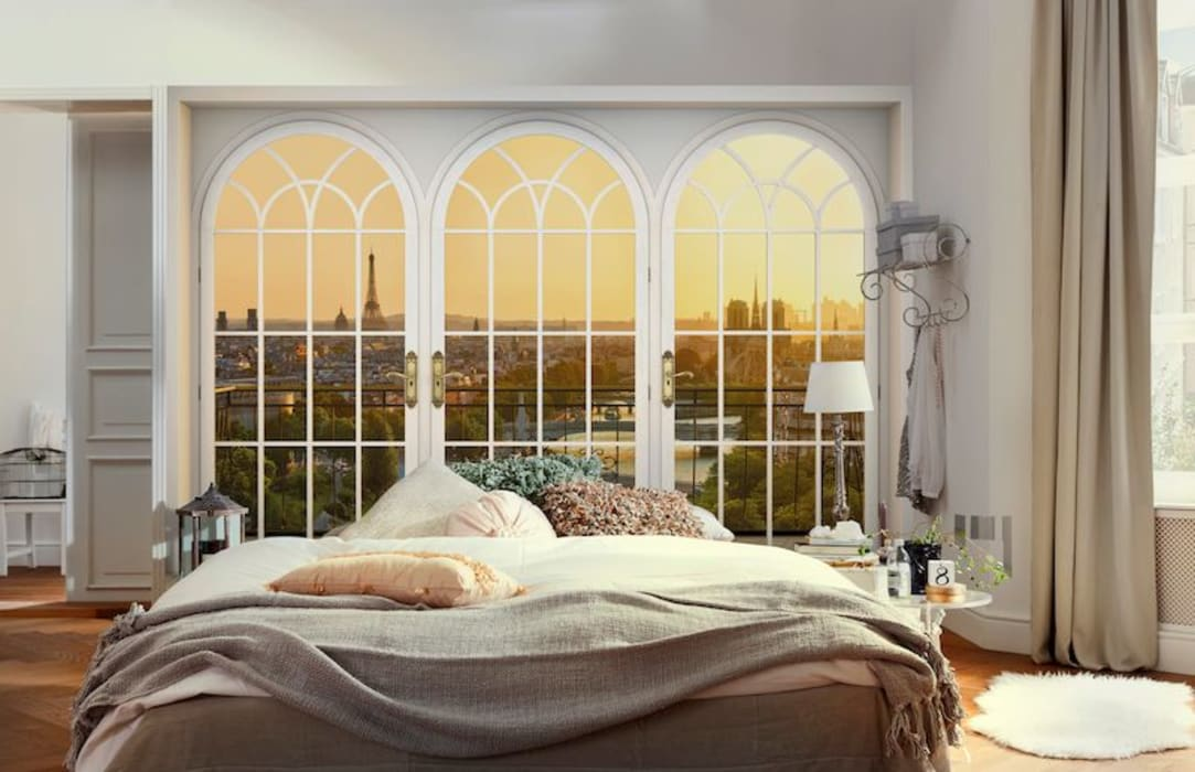 Fotomurales para decorar tu hogar Dormitorios modernos de DeColor Moderno
