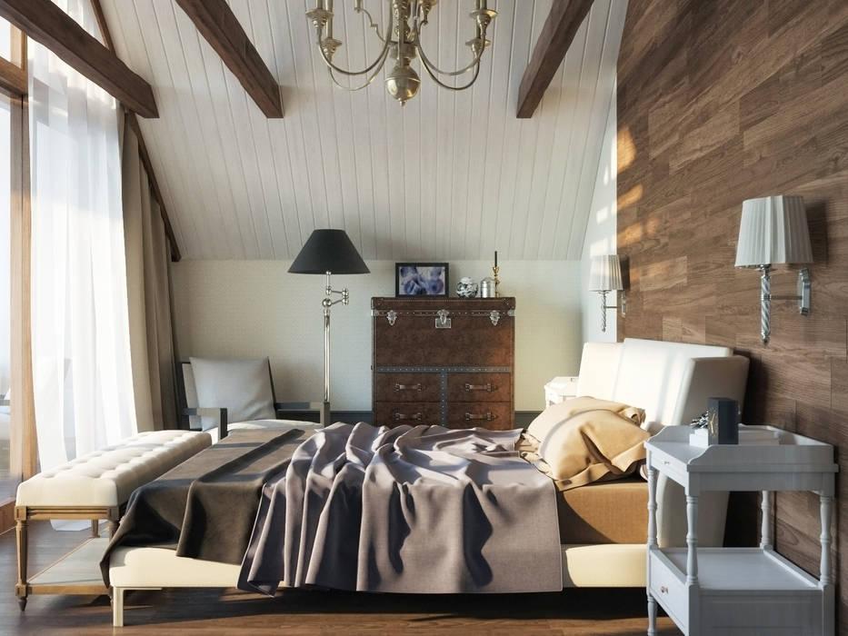 식민지스타일 침실 by Brama Architects 콜로니얼 (Colonial) 엔지니어드 우드 투명
