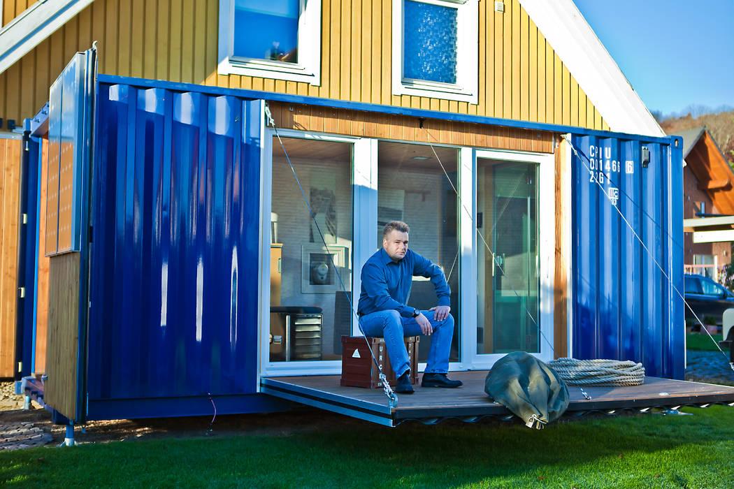 POCKETCONTAINER - Das Mikrohaus:  Häuser von Stefan Brandt - solare Luftheizsysteme und Warmuftkollektoren