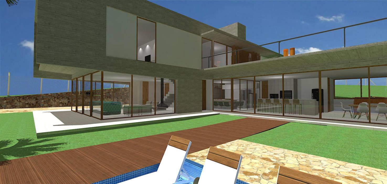 Moderne Häuser von grupo pr   arquitetura e design Modern