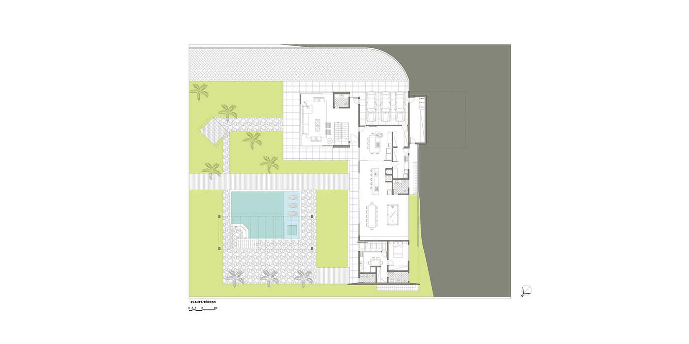 Modern Walls and Floors by grupo pr | arquitetura e design Modern