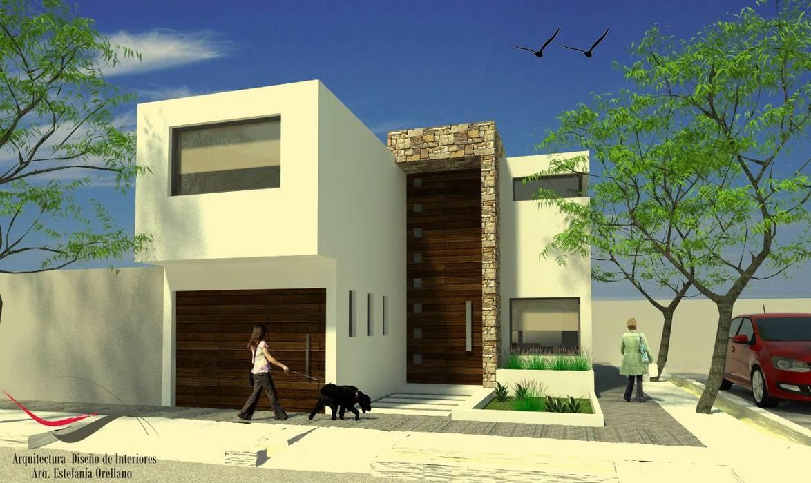Proyecto AB: Casas de estilo  por Arq-Diseño Interior