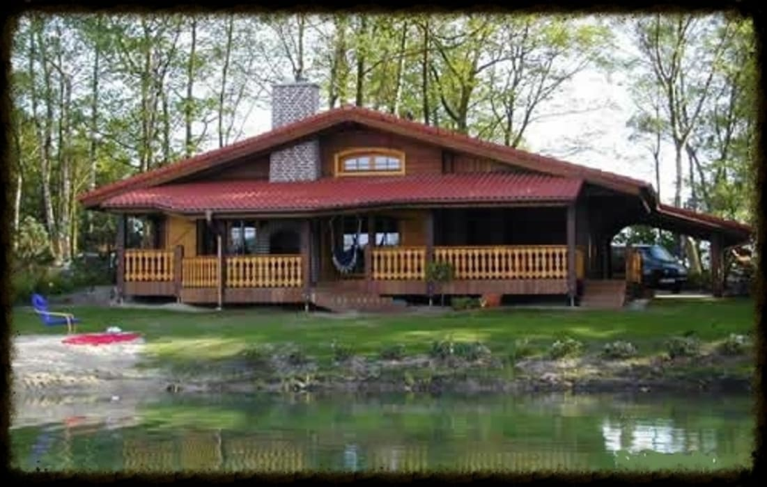 Case di legno block house case in stile di casedilegnosr for Homify case