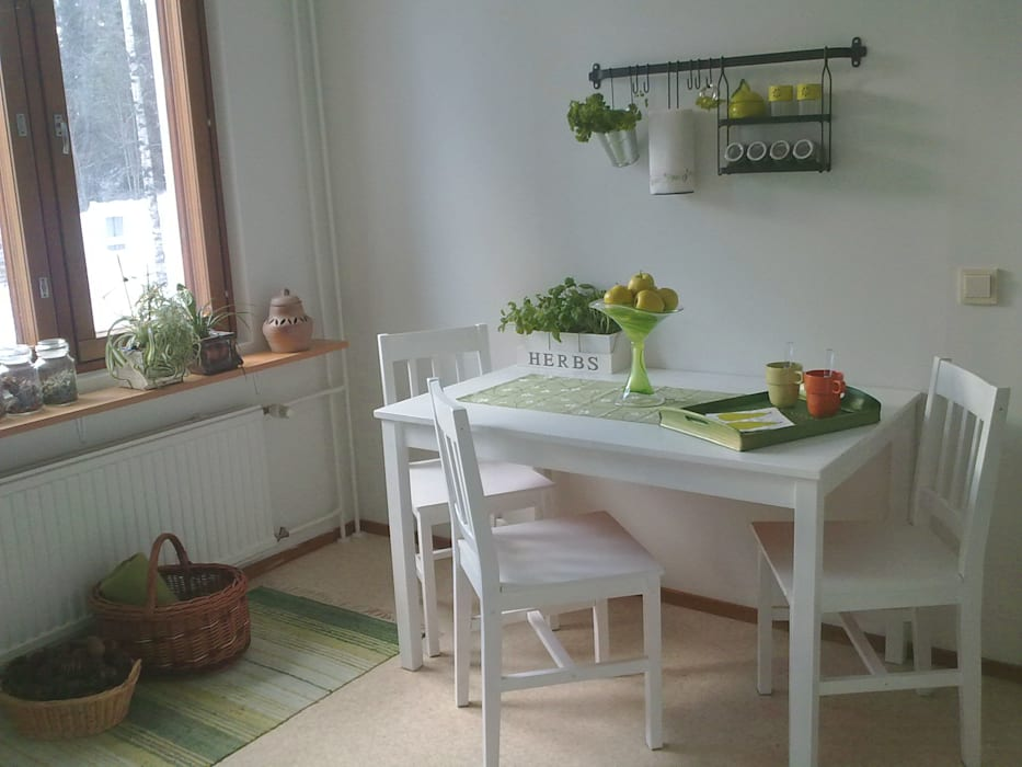 Scandinavian style dining room by G7 Grupo Creativo Scandinavian
