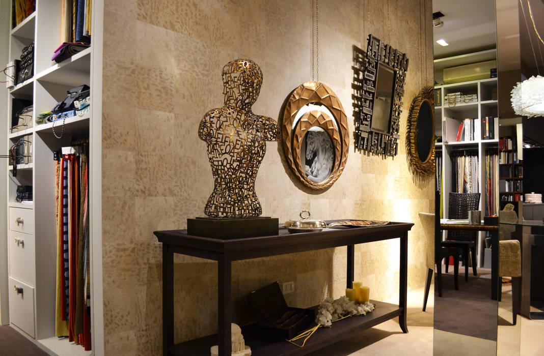 bilune studio showroom: Spazi commerciali in stile  di bilune studio