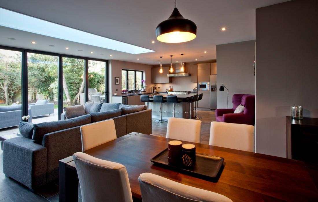 Salas de jantar  por A1 Lofts and Extensions, Moderno