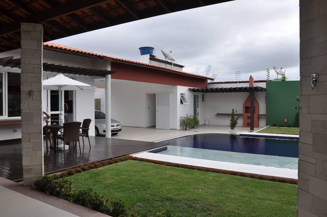 Libório Gândara Ateliê de Arquitetura Modern Pool