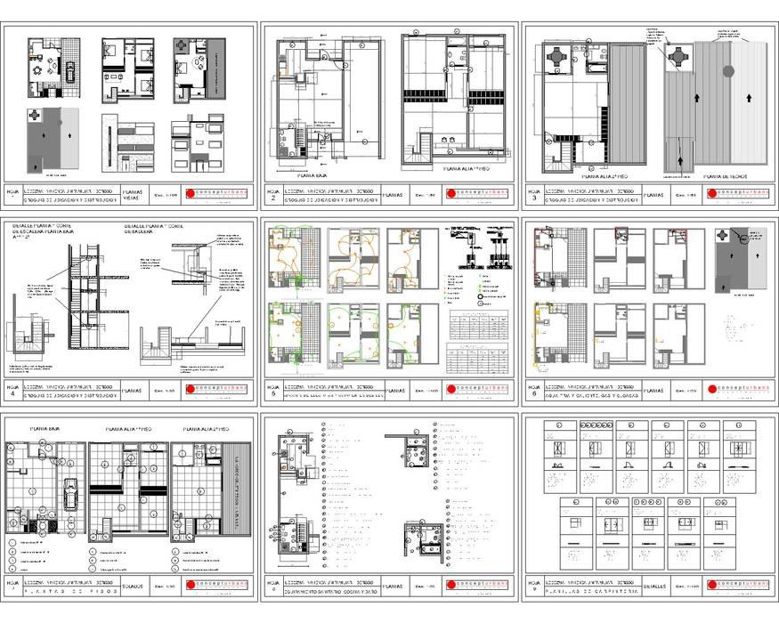 Case moderne di concepturbano Moderno