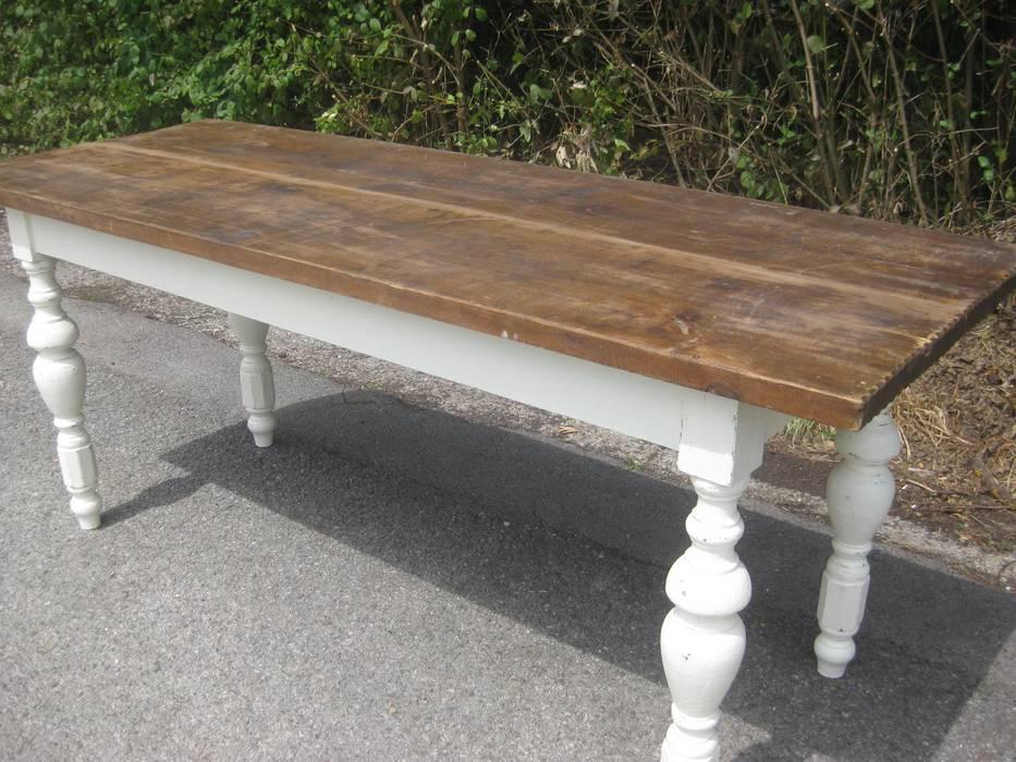 Antiker Tisch Klostertisch Table Esszimmer Von Wwwantik Living