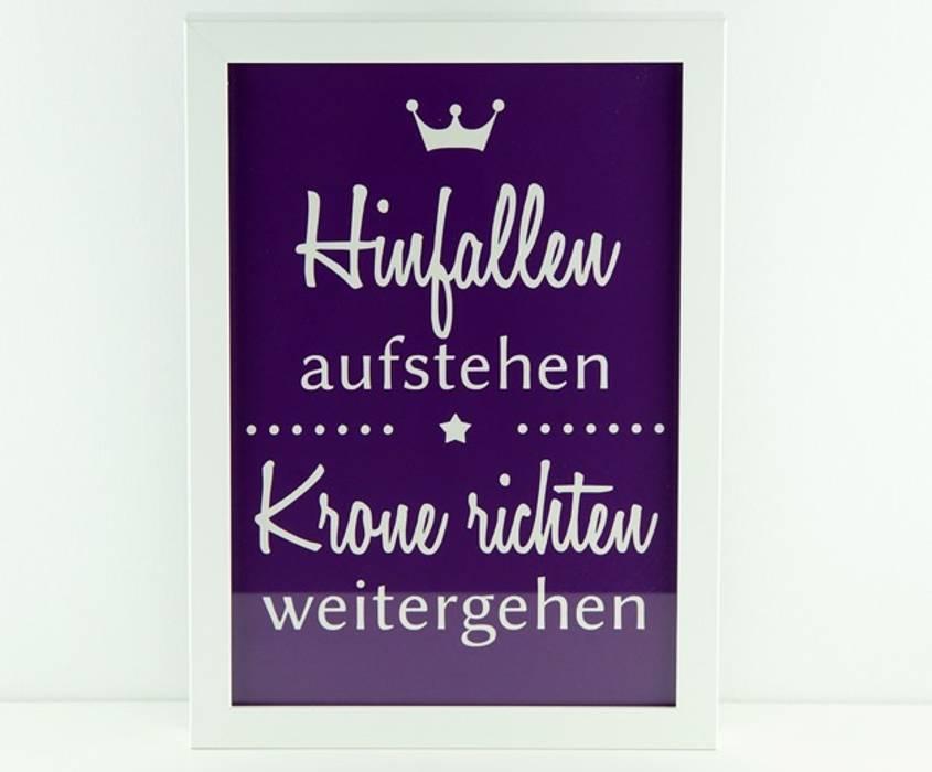 Krone Richten Spruch bild | spruch: hinfallen, aufstehen, krone richten: wände & boden