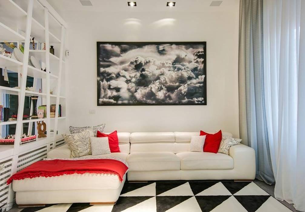 Moderne Wohnzimmer von SERENA ROMANO' ARCHITETTO Modern