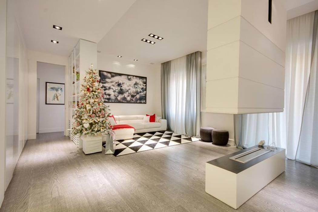 Salas de estar  por SERENA ROMANO' ARCHITETTO, Moderno