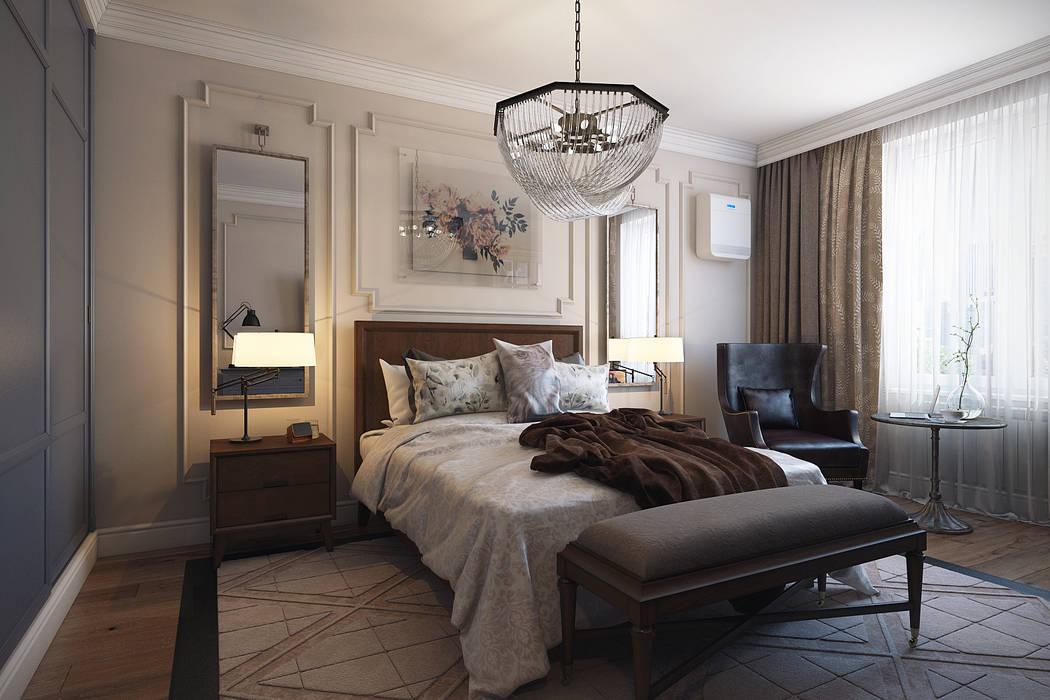 Спальня Спальня в эклектичном стиле от homify Эклектичный Дерево Эффект древесины